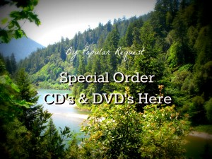 Special Order CDs and DVDs
